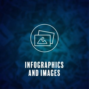 Buttons for Infographics and Images