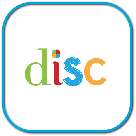 The logo for DISC Personality Testing