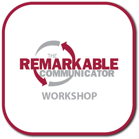 The logo for The Remarkable Communicator Workshop
